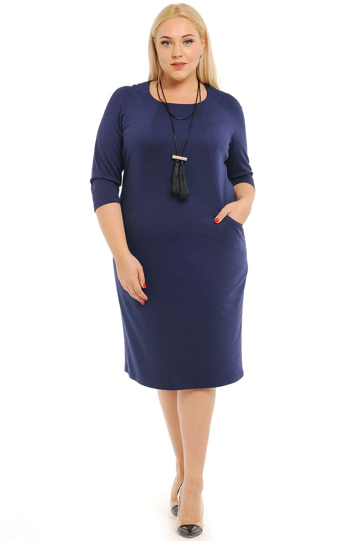 Фото офисных платьев для полных женщин